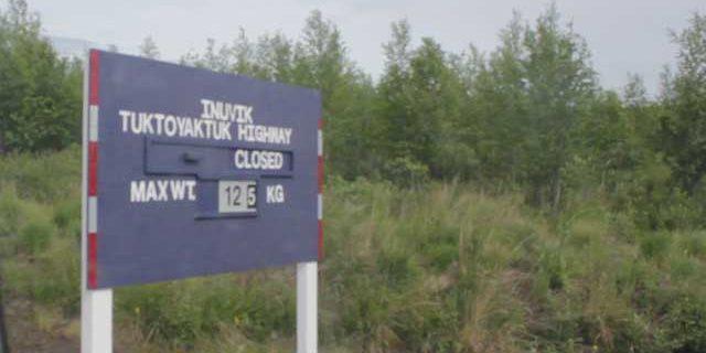 Road Closed to Tuk