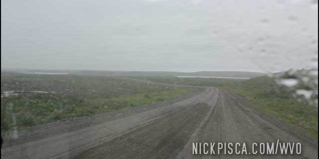 Driving to Tuktoyaktuk