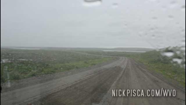 Driving to Tuktoyaktuk