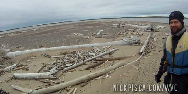 Arctic Ocean Sandbar