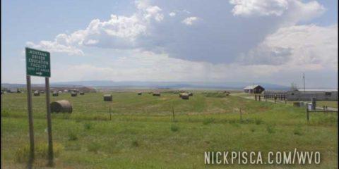 Farmland near Malstrom AFB