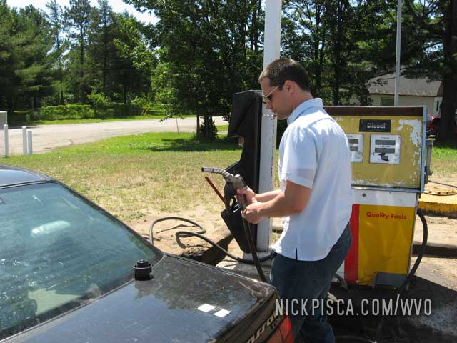 Oops! No Self-Service Diesel in Ontario.