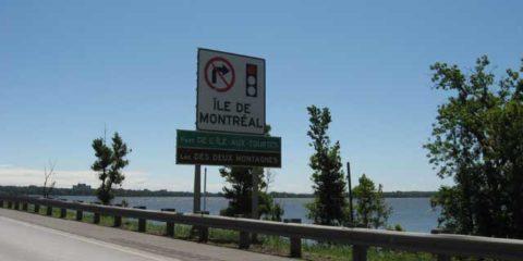 Crossing into Quebec…