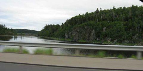 Near Saint John Nova Scotia