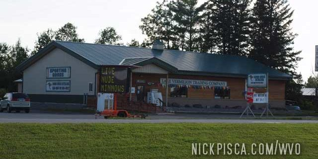 """""""Live NUDE"""" Minnows in Cook MN"""