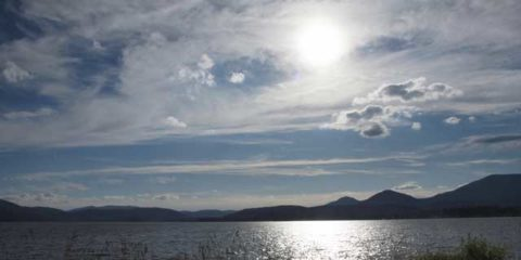 Lake Pend Oreille Near Sandpoint Idaho