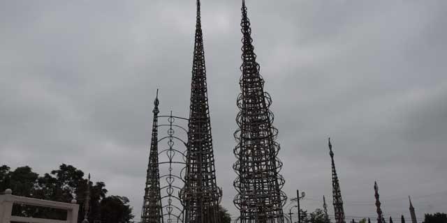 Watts Towers in California