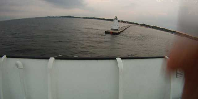 Manitowoc to Ludington – SS Badger Ferry