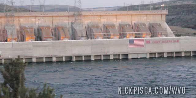 Chief Joseph Dam in Washington