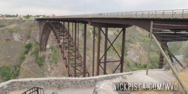 Perrine Memorial Bridge in Idaho