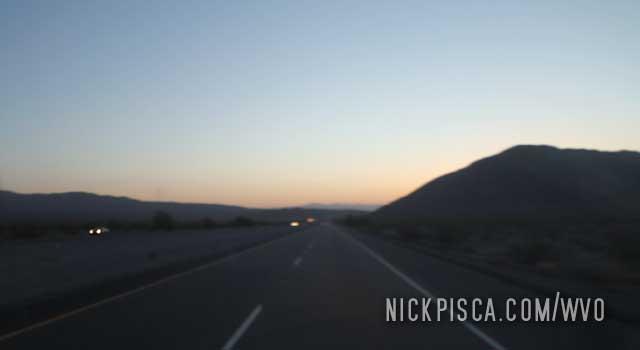 Early Start in the Mojave Desert