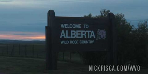 Montana – Alberta Border Crossing