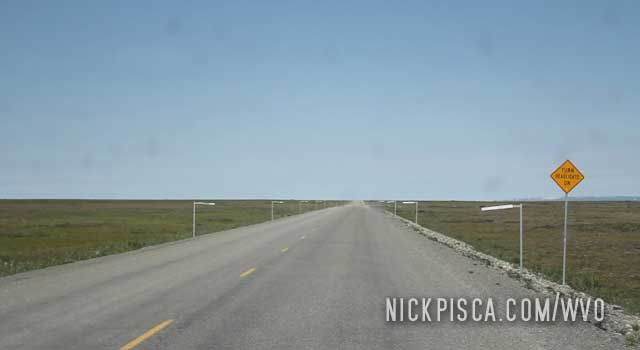 Dalton Highway south of Deadhorse.