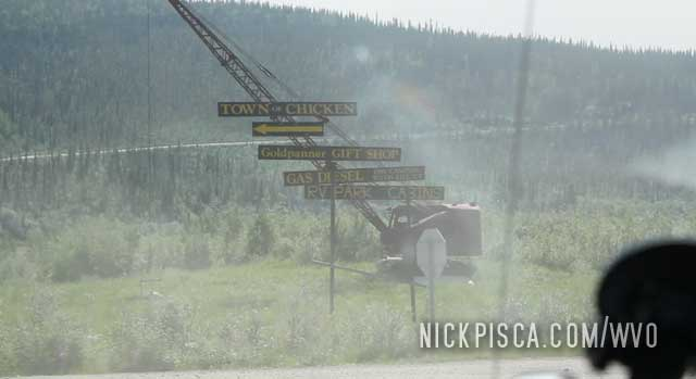Chicken Alaska and the Surroundings
