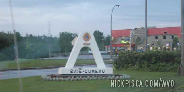 Baie Comeau Quebec (Starting Labrador Hwy)
