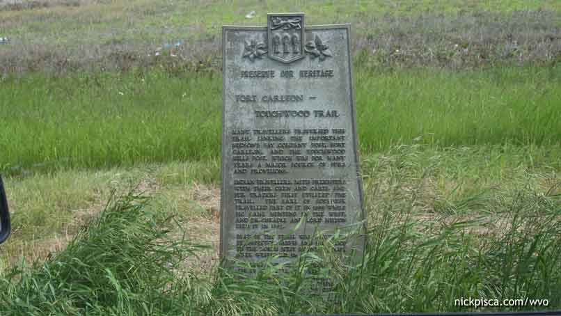 Fort Carlton – Touchwood Trail Marker