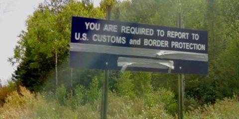 Northwest Angle Canadian Border Station