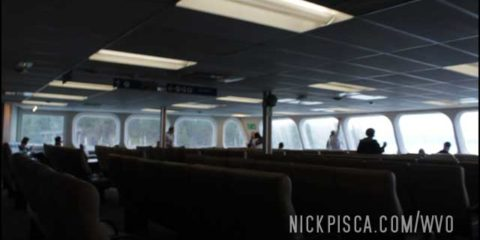 BC Ferry from Horseshoe Bay to Nanaimo