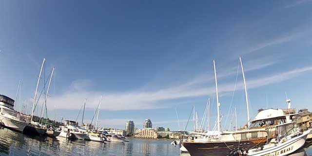 Fisherman's Wharf Park in Victoria British Columbia
